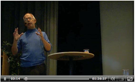 På talerstolen i Stockholm