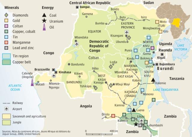 Afrikas verdenskrig på 1990-tallet handlet om landets eventyrlige ressurser.